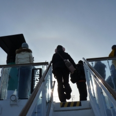 網走流冰觀光破冰船