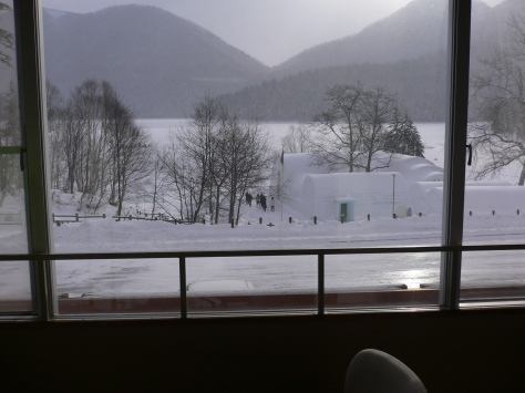 然別湖酒店房間內