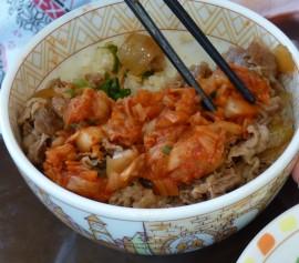 泡菜牛肉飯