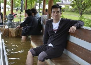 洞爺湖畔足湯