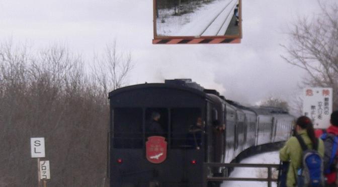 SL冬之濕原號特色列車雪地行走