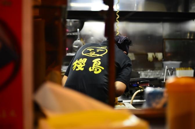 札幌outlet的鹿兒島拉麵